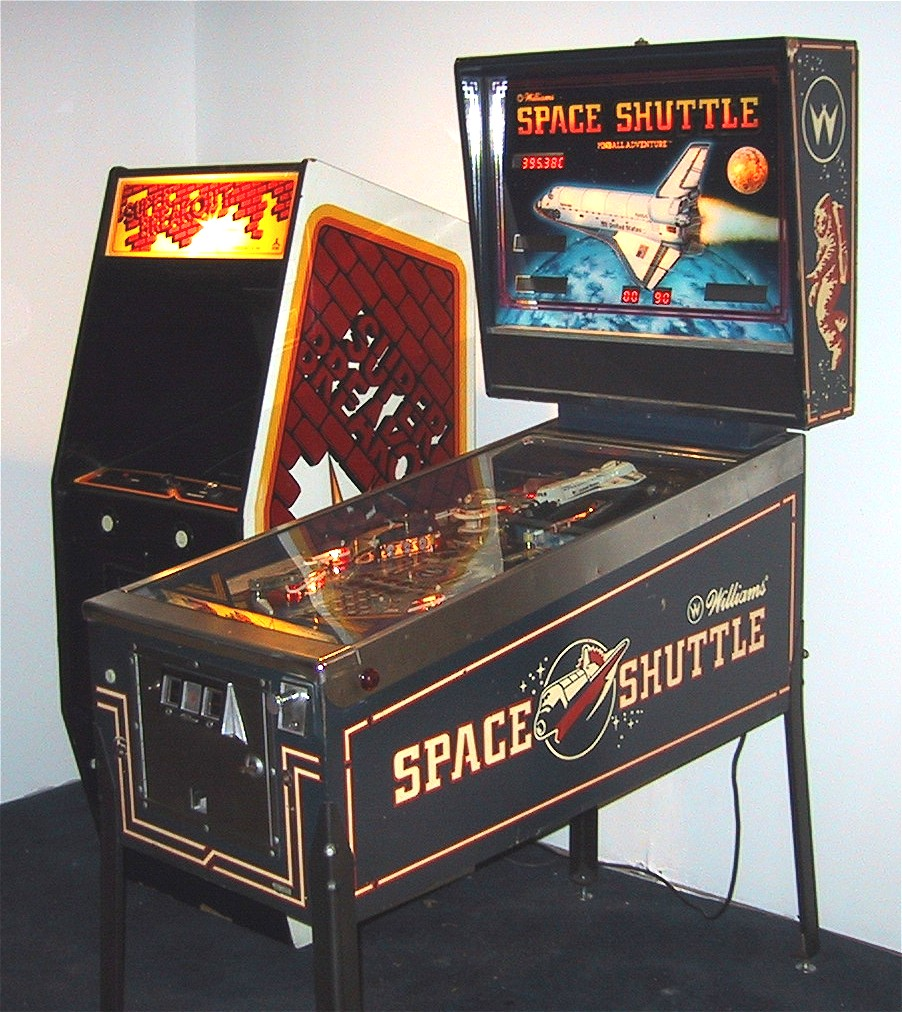 Mark's Pinball Page - Space Shuttle Pinball